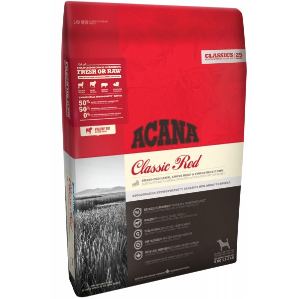Acana Clasic Red 17 Kg + recompense Tail Swingers 100 g
