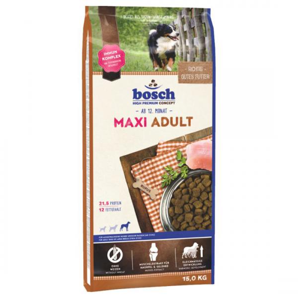 Hrana uscata pentru caini Bosch Maxi Adult 15 kg