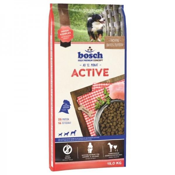 Hrana uscata pentru caini Bosch Adult Active 15 kg