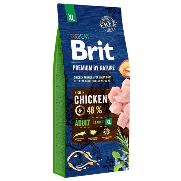 Brit Premium by Nature, Adult XL 15 Kg