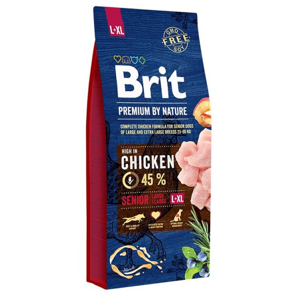 Brit Premium by Nature, Senior L si XL, 15 Kg