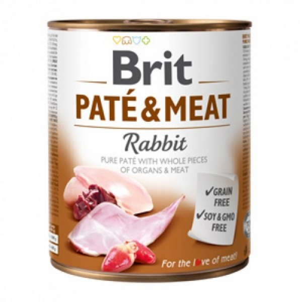 Brit Pate and Meat Rabbit 800 g