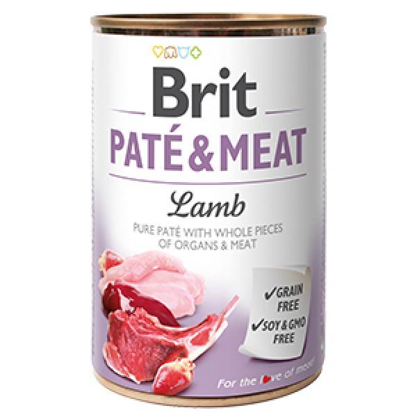 Brit Pate and Meat Lamb 400 g
