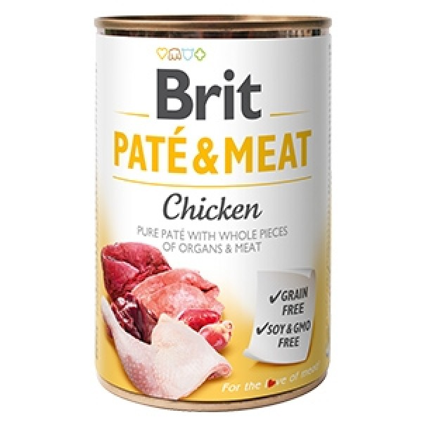 Brit Pate and Meat Chicken 400 g