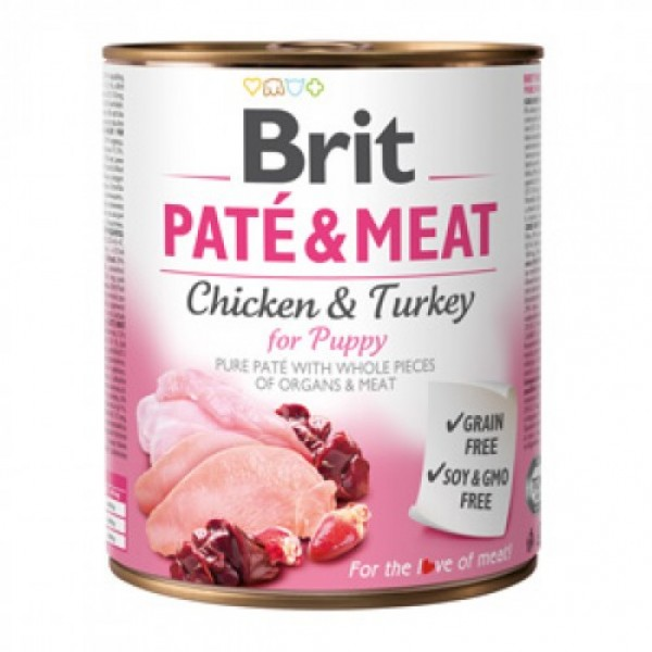 Brit Pate and Meat Puppy 800 g