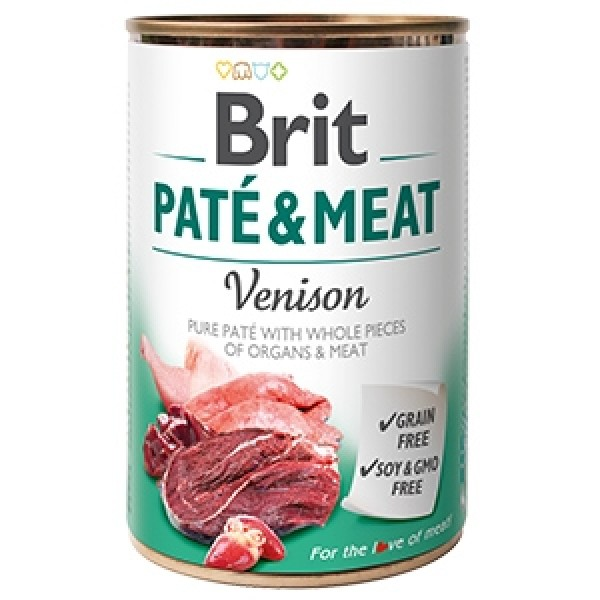 Brit Pate and Meat Venison 400 g