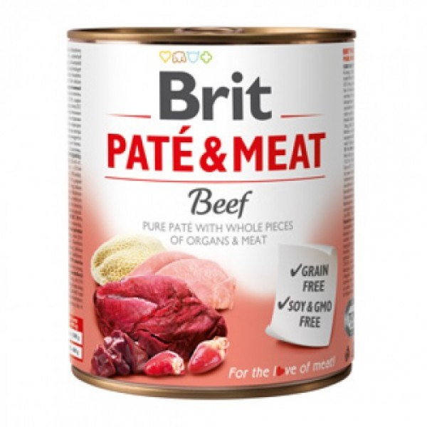 Brit Pate and Meat Beef 800 g