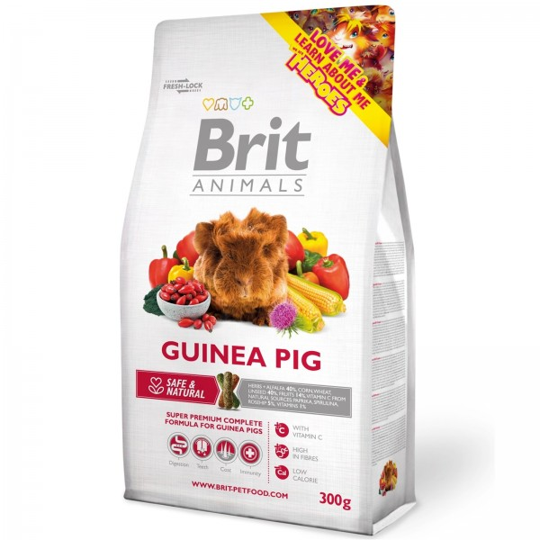 Brit Animals porcusor de Guinea 300 gr