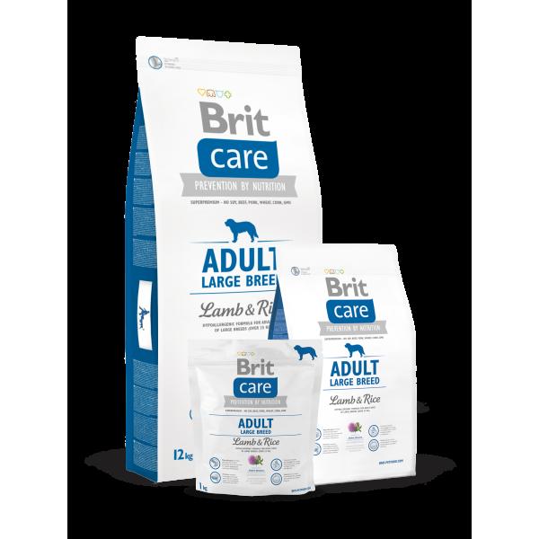 Brit Care Adult Large Breed Miel si Orez 1 kg