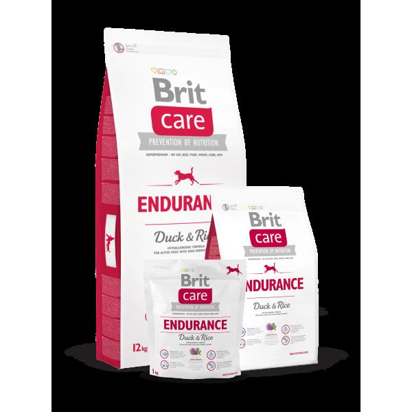 Brit Care Endurance All Breed Rata si Orez, 1 kg