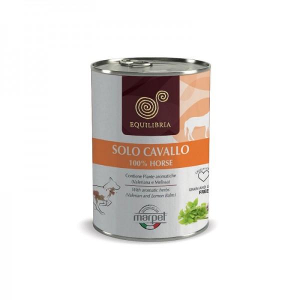 Conserva EQUILIBRIA Dog - 100% carne de CAL - 410 gr