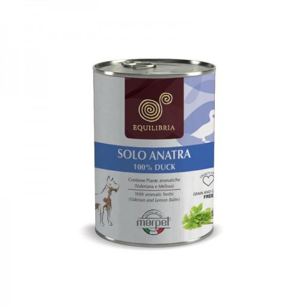 Conserva EQUILIBRIA Dog - 100% carne de RATA -  410 gr