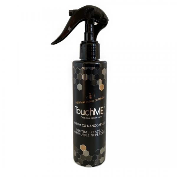 Parfum cu nanocapsule pentru casa si tesaturi, Touchme, Gold, 200ml