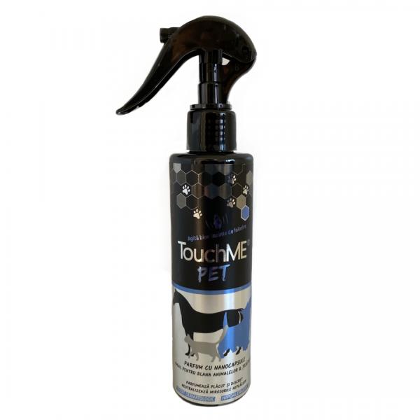 Parfum cu nanocapsule pentru animale, Touchme Pet, Blue, 200ml