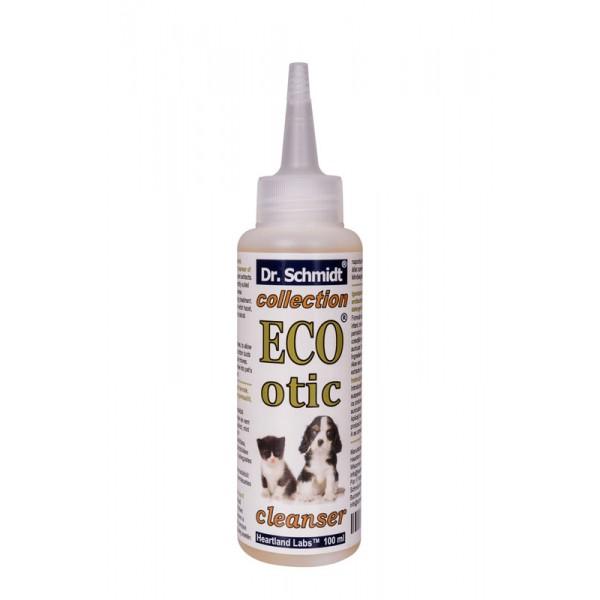 Dr. Schmidt ECO OTIC 100 ml - Solutie pentru igienizarea canalului auricular la caini si pisici