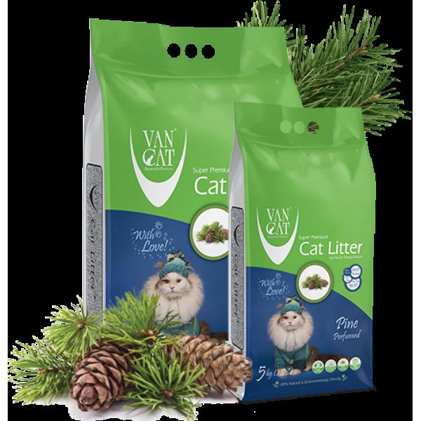 Nisip Igienic Pentru Pisici, Vancat Pine Compact 5 Kg