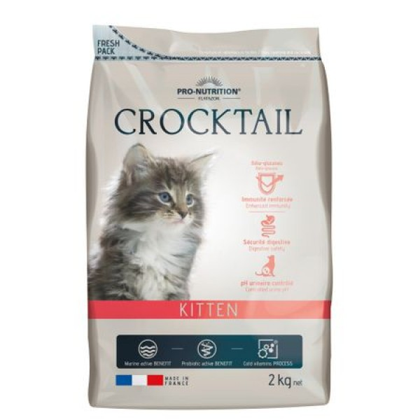 Crocktail Kitten Pui Rata Curcan 2 kg