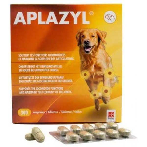 Aplazyl 300 tablete + cadou 1 x ulei somon salbatic Best4Pets 250 ml