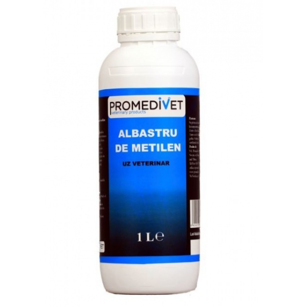 Albastru de metilen, Promedivet, 1L