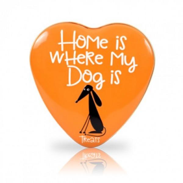 SANAL DOG YEAST CALCIUM HEART TIN 60 G