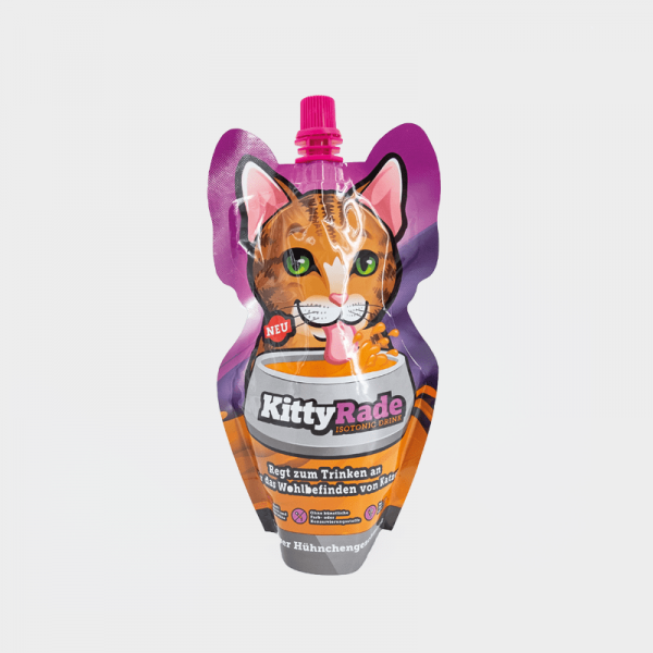 Bautura izotonica KittyRade, pentru pisici cu varsta peste 6 saptamani, 250 ml