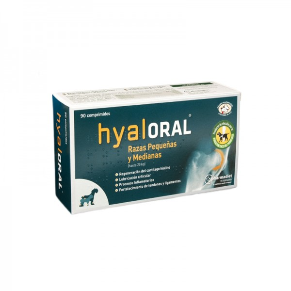 Hyaloral Small and Medium Breed 90 tablete