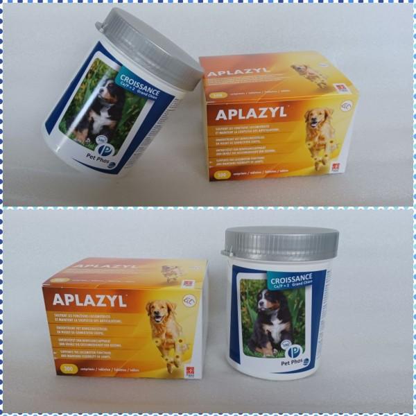 Pachet promotional 1 x Aplazyl 300 tablete + 1 x Pet Phos Grand Chien 100 tb