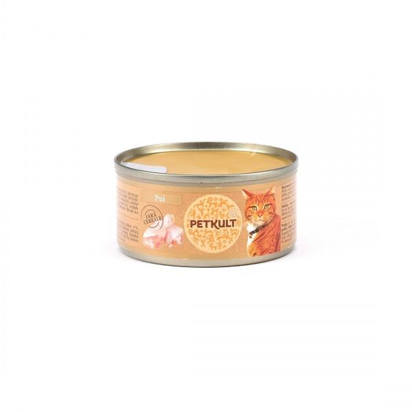 Hrana Umeda Pisici Petkult Cat Pui 80gr