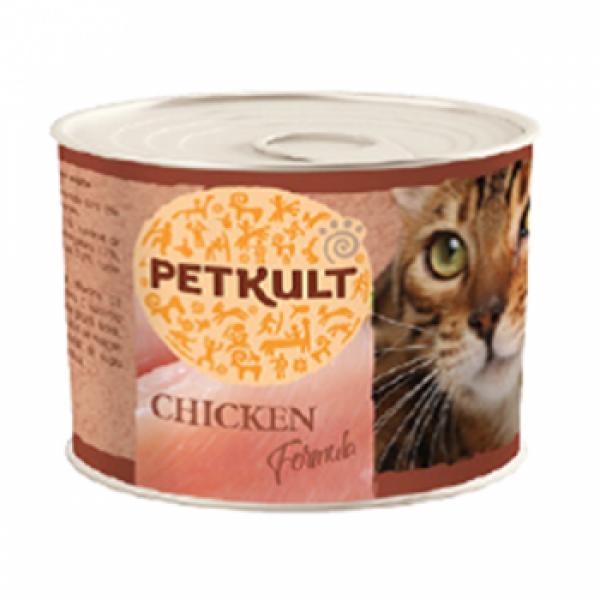Hrana Umeda Pisici Petkult Pui 185 g