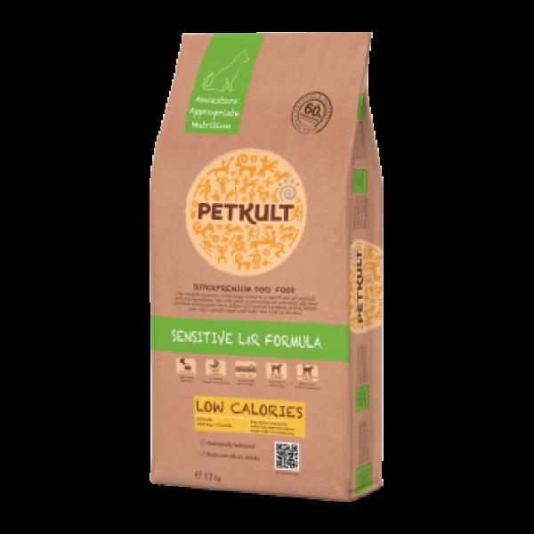 Hrana Uscata Caini Petkult Sensitive Low Calories 12 kg