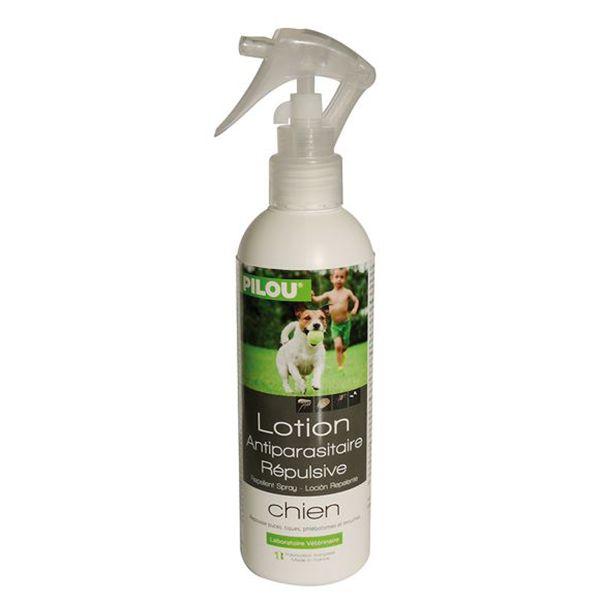 Spray antiparazitar Pilou, pentru caini, 250 ml