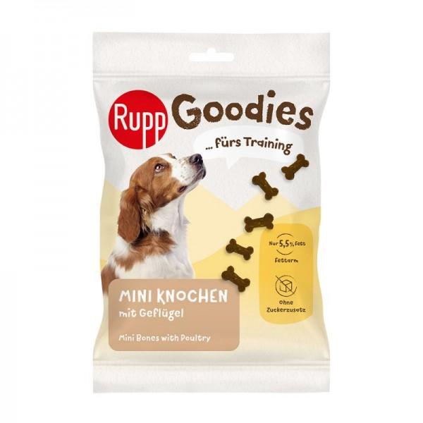 Recompense pentru caini, Rupp, mini oase cu pui, 200 gr