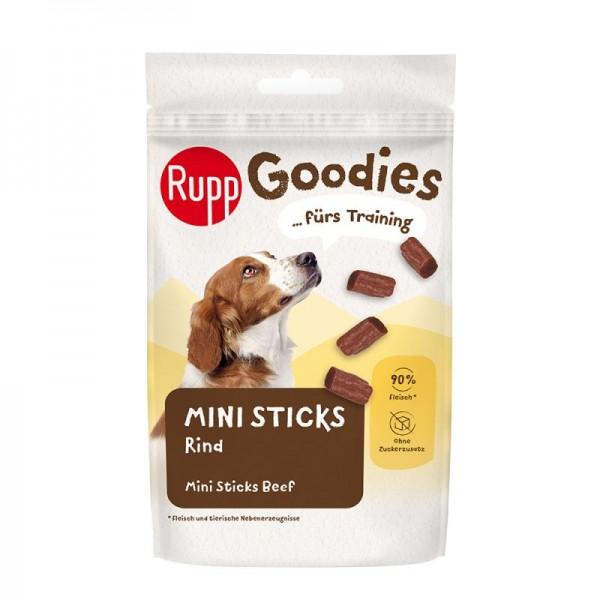 Recompense pentru caini, Rupp, mini sticks-uri cu vita, 60 gr