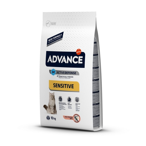 Advance Cat Adult Somon Sensitive 10 kg