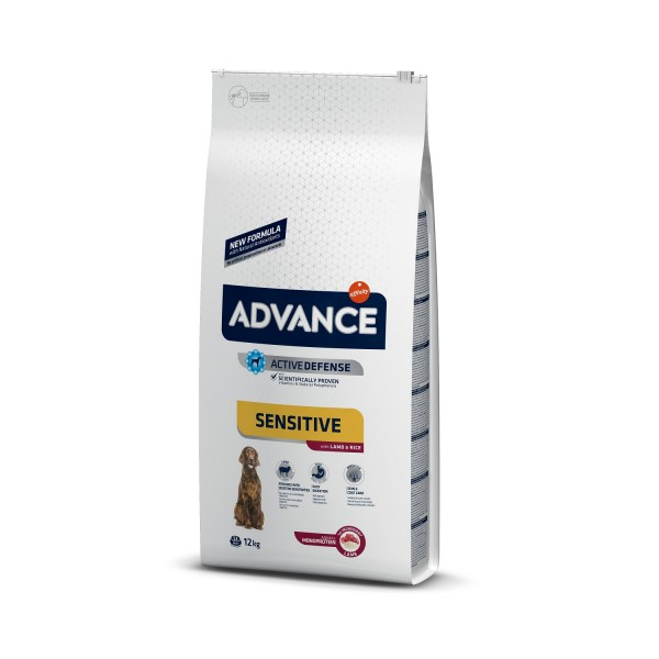 Advance Dog Adult Sensitive Miel si Orez 12 kg