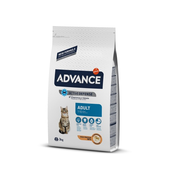 Advance Cat Adult Pui si Orez 3 kg