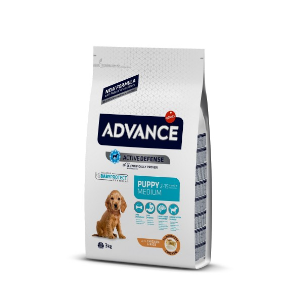 Advance Dog Puppy Medium Protect 12 kg