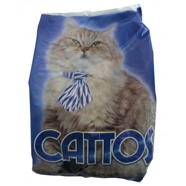 Hrana uscata pentru pisici adulte, Cattos, 800 gr