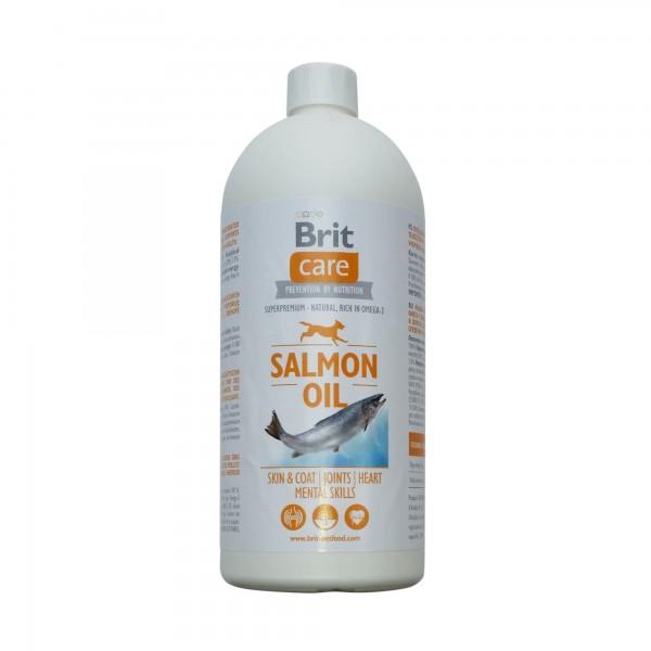 Ulei de Somon Brit Care, 1000 ml