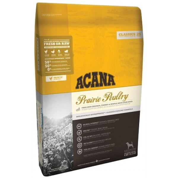 Acana Clasic Prairie Poultry 17 kg + recompense Tail Swingers 100 g