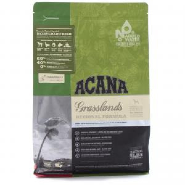 Acana Dog Grasslands 11,4 kg + recompense Tail Swingers 100 g