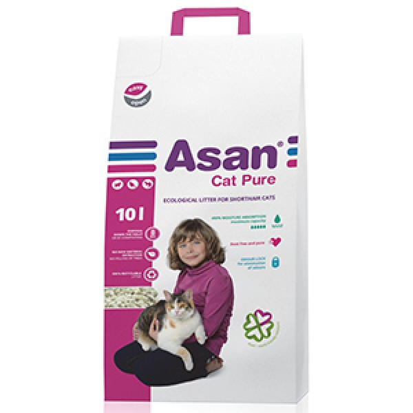 Asan Cat Pure 10 litri
