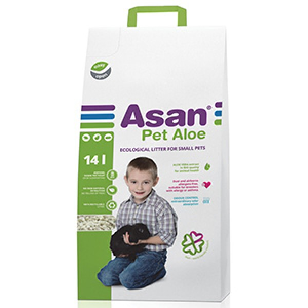 Asan Pet Aloe 14 litri
