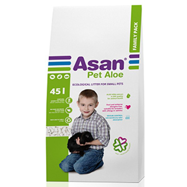 Asan Pet Aloe 45 litri