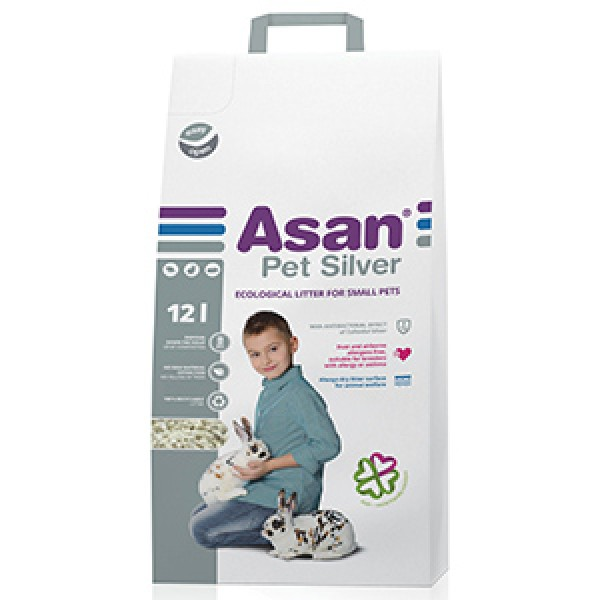 Asan Pet Silver 12 litri