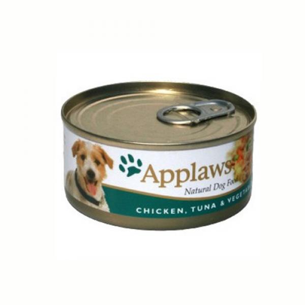Applaws Dog Adult Piept de Pui, Ton si Legume, Conserva 156 gr