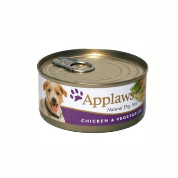 Applaws Dog Adult Piept de Pui si Legume, Conserva 156 gr