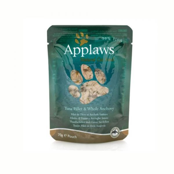 Applaws Cat Adult  Ton cu Ansoa, plic 70 gr