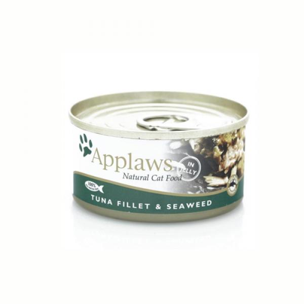 Applaws Cat Adult File de Ton si Alge, Conserva 70 gr