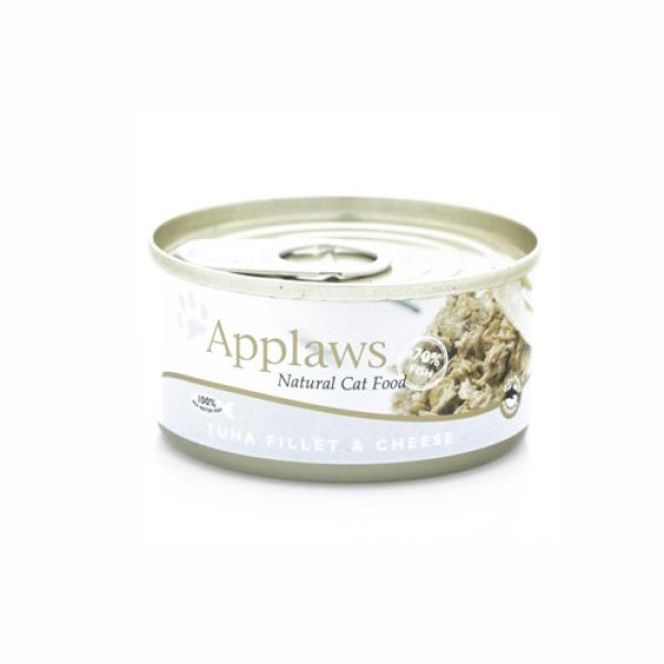 Applaws Cat Adult File de Ton si Branza, Conserva 156 gr